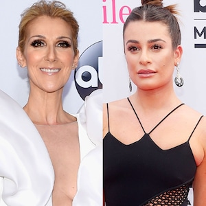 Celine Dion, Lea Michele, 2017 Billboard Music Awards, Arrivals