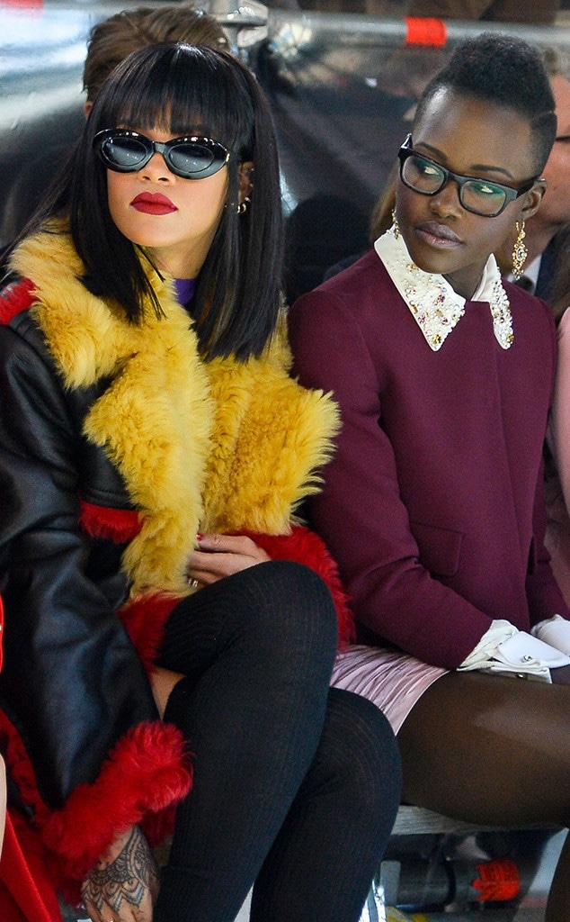 Rihanna, Lupita Nyong'o