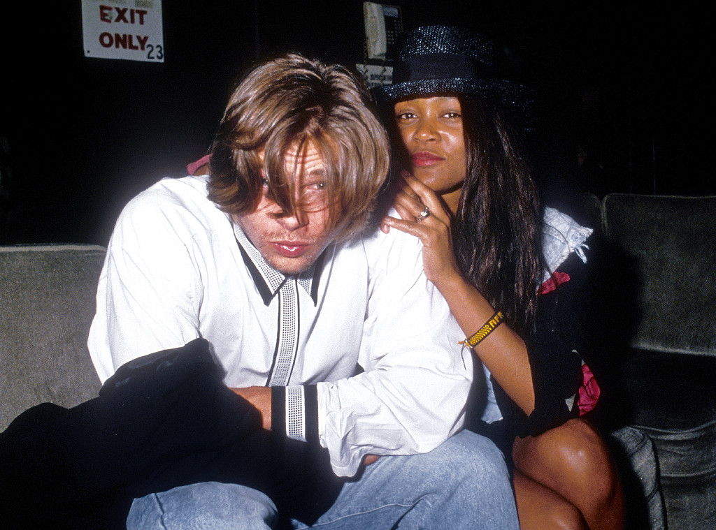 Brad pitt dating robin givens