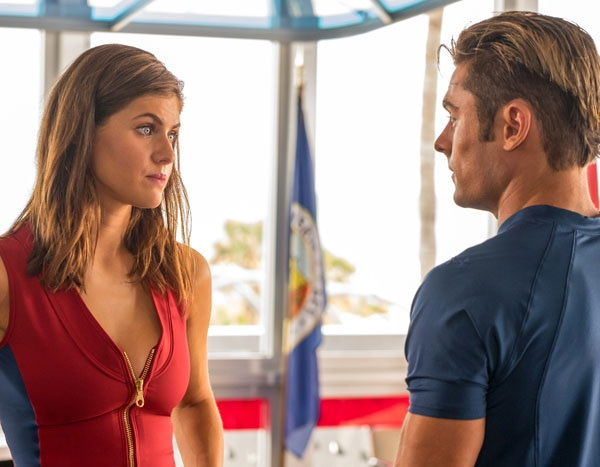 f8472f0be9d7 Could Zac Efron and Alexandria Daddario Really Be Dating  A Frame-by-Frame  Baywatch Investigation