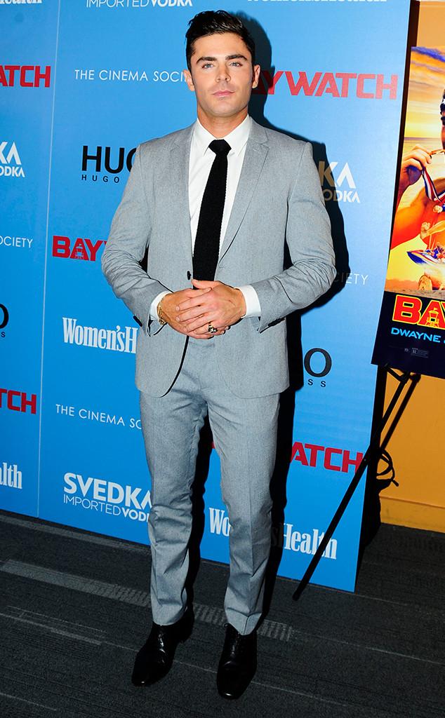 Zac Efron, Baywatch Screening