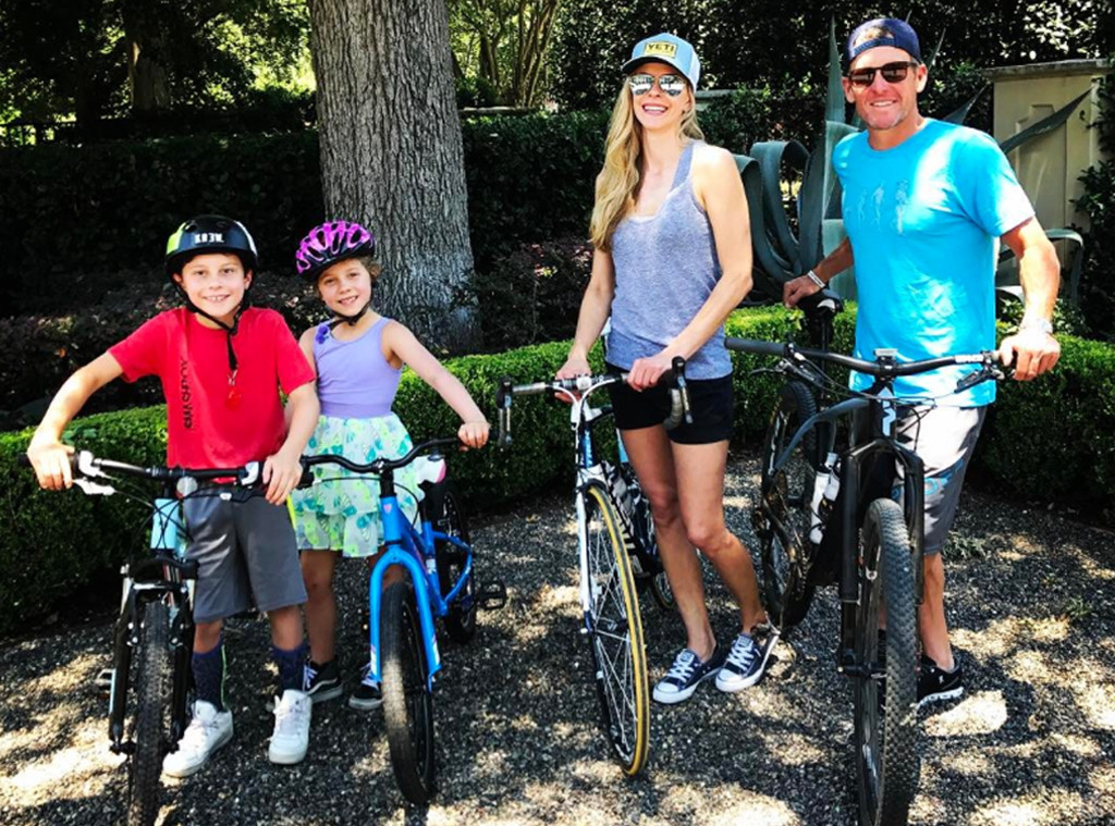 Lance Armstrong, Anna Hansen, Kids, Mimi, Kik