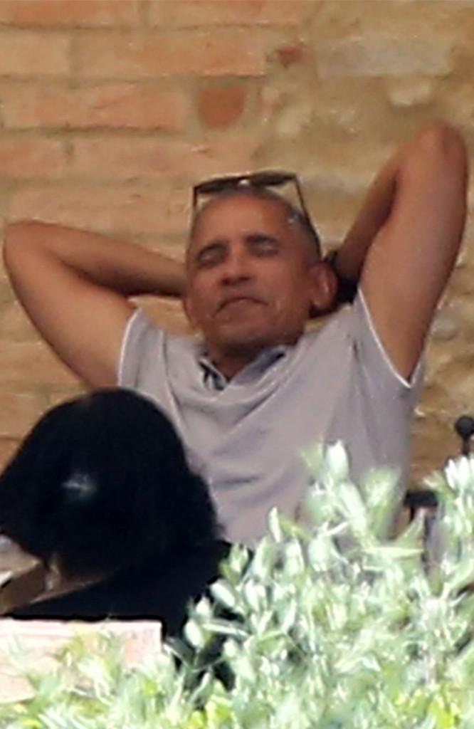 Barck Obama, Italy