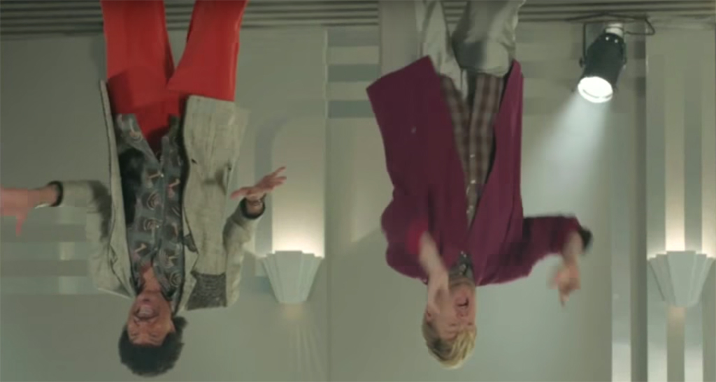 James Corden, Lionel Richie, Stuck on the Ceiling Video