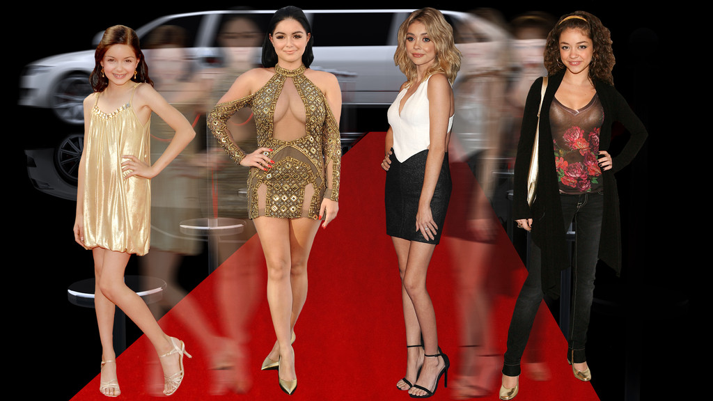 Ariel Winter, Sarah Hyland, Graphic