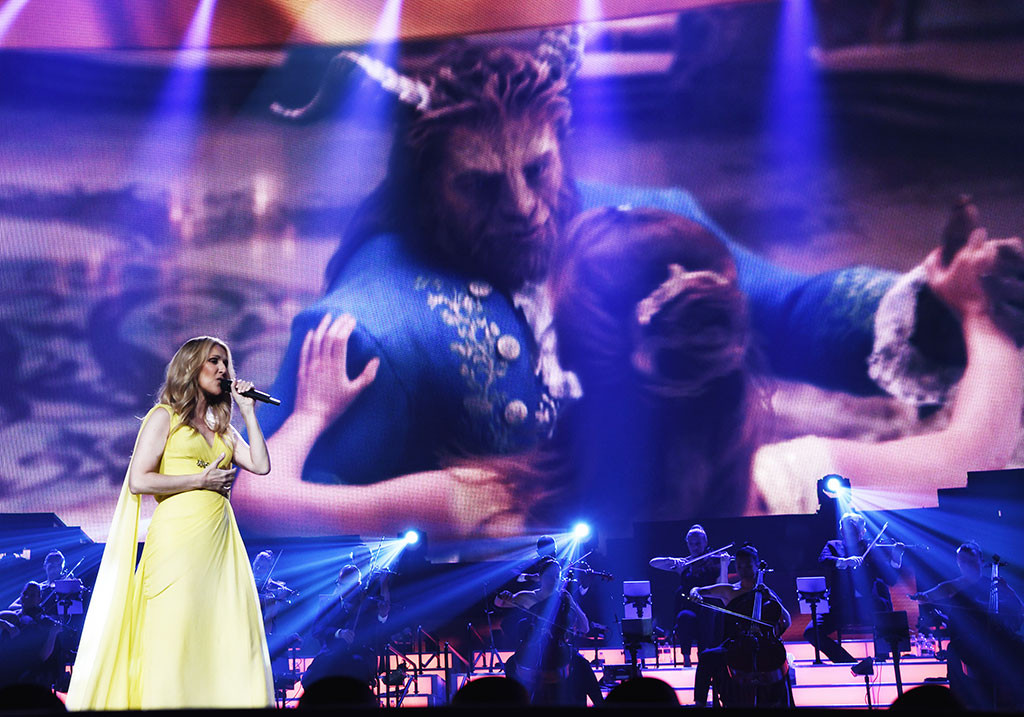 Celine Dion Performs A New Beauty And The Beast Song E Online