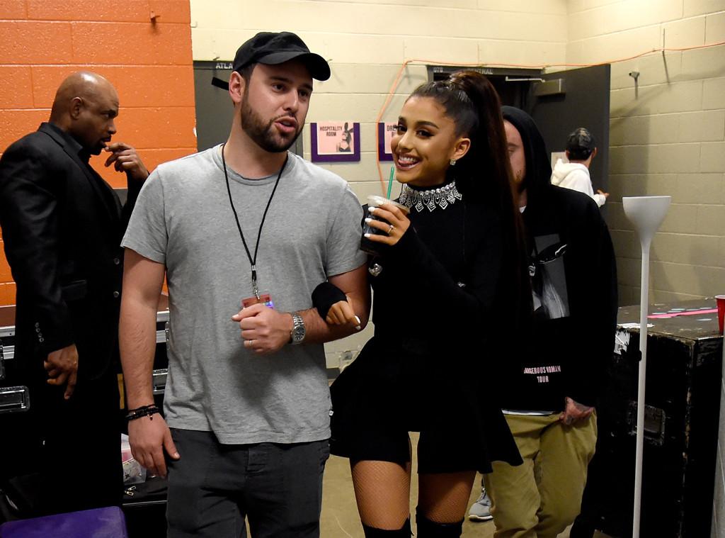 Scooter Braun, Ariana Grande