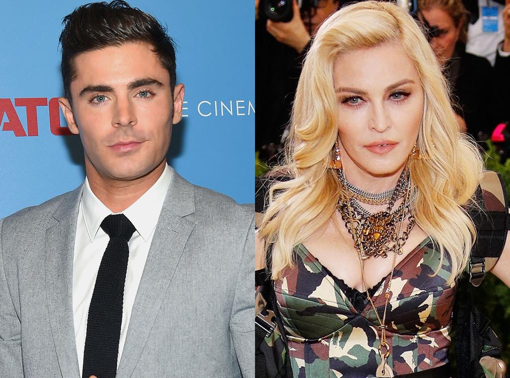 Zac Efron, Madonna