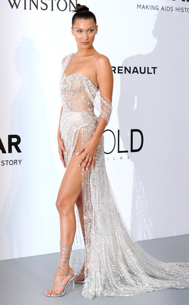 ESC: Bella Hadid, Amfar Gala, Cannes Film Festival 2017
