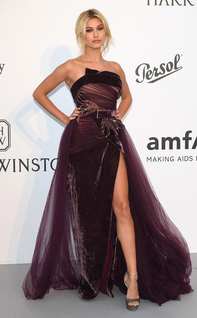 Hailey Baldwin, Amfar Gala, Cannes Film Festival 2017