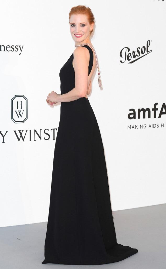 Jessica Chastain, Amfar Gala, Cannes Film Festival 2017