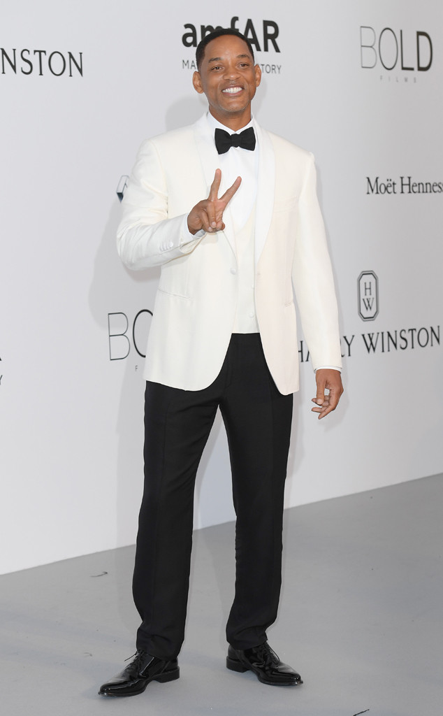 Will Smith, Amfar Gala, Cannes Film Festival 2017