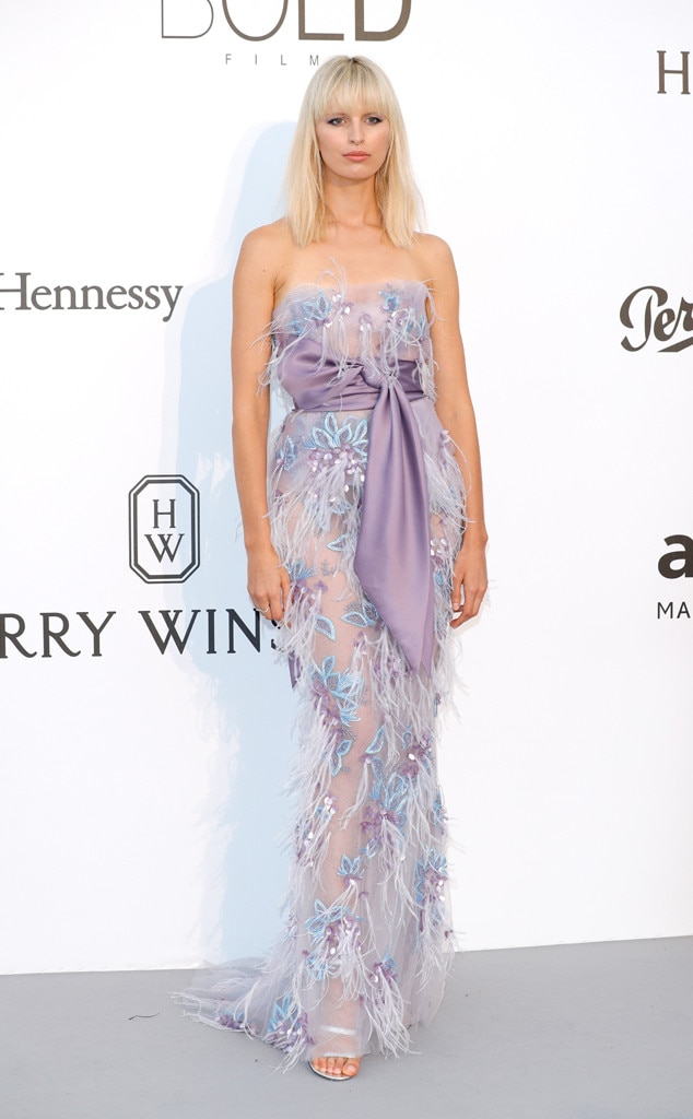Karolina Kurkova, Amfar Gala, Cannes Film Festival 2017
