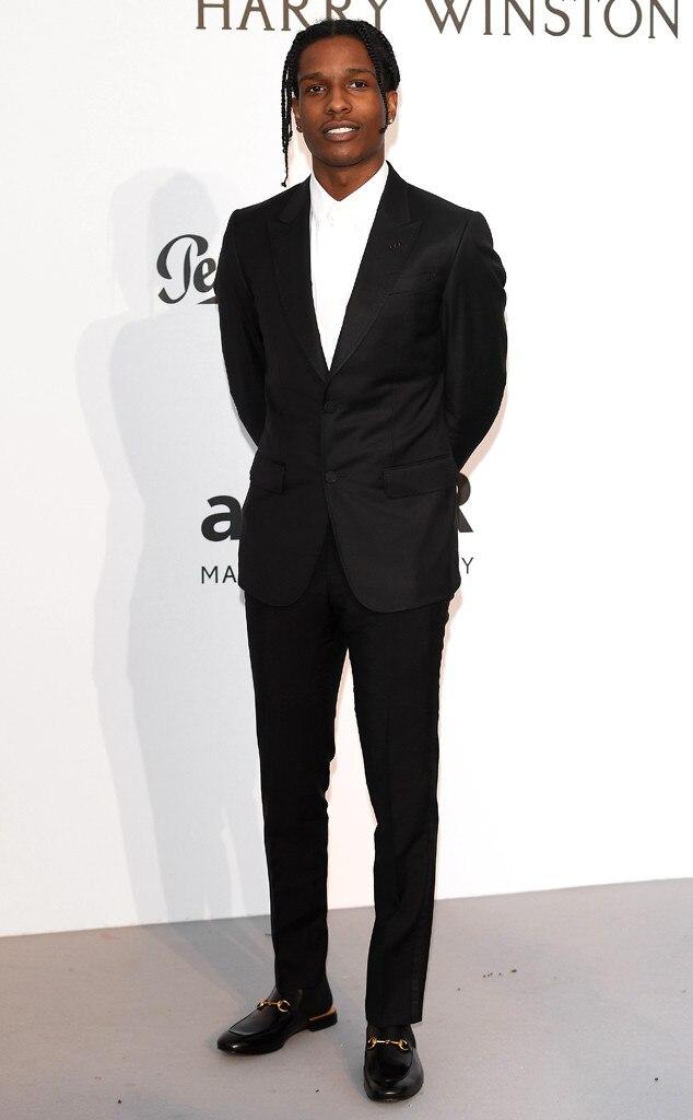 ASAP Rocky, A$AP Rocky, Amfar Gala, Cannes Film Festival 2017