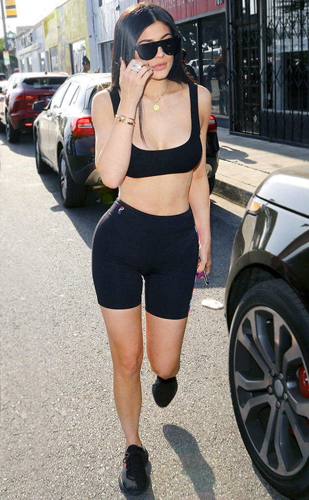 Kylie Jenner S Bike Shorts Are Now 70 E Online Ca