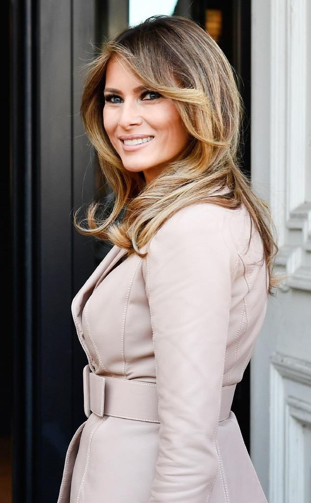 Melania Trumps S Fashion Formula Revealed E Online