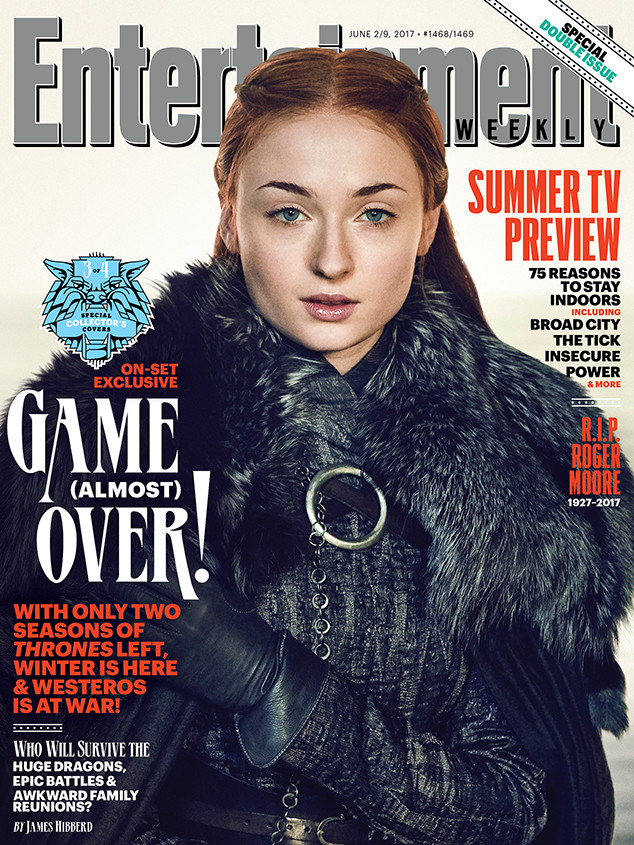 Sophie Turner, EW, Cover