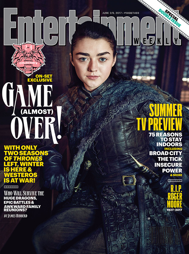 Maisie Williams, EW, Cover