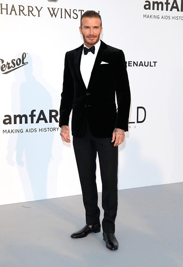 David Beckham, Amfar Gala, Cannes Film Festival 2017