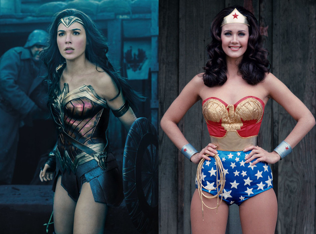 Wonder Woman, Gal Gadot, Lynda Carter