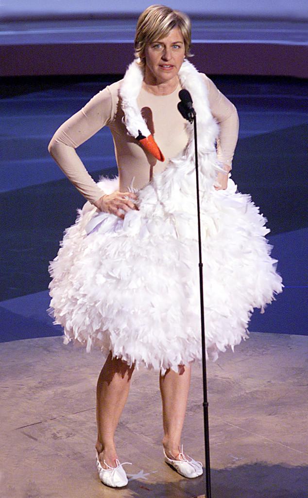 Ellen Degeneres Favorite Fashion Moment Was In This Dress