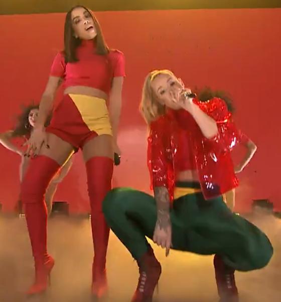 Anitta, Iggy Azalea, The Tonight Show