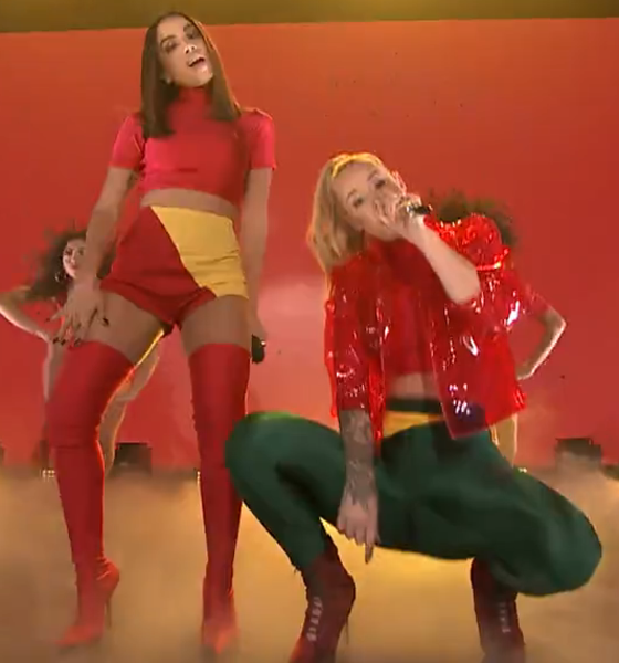Anitta, Iggy Azalea, The Tonight Show