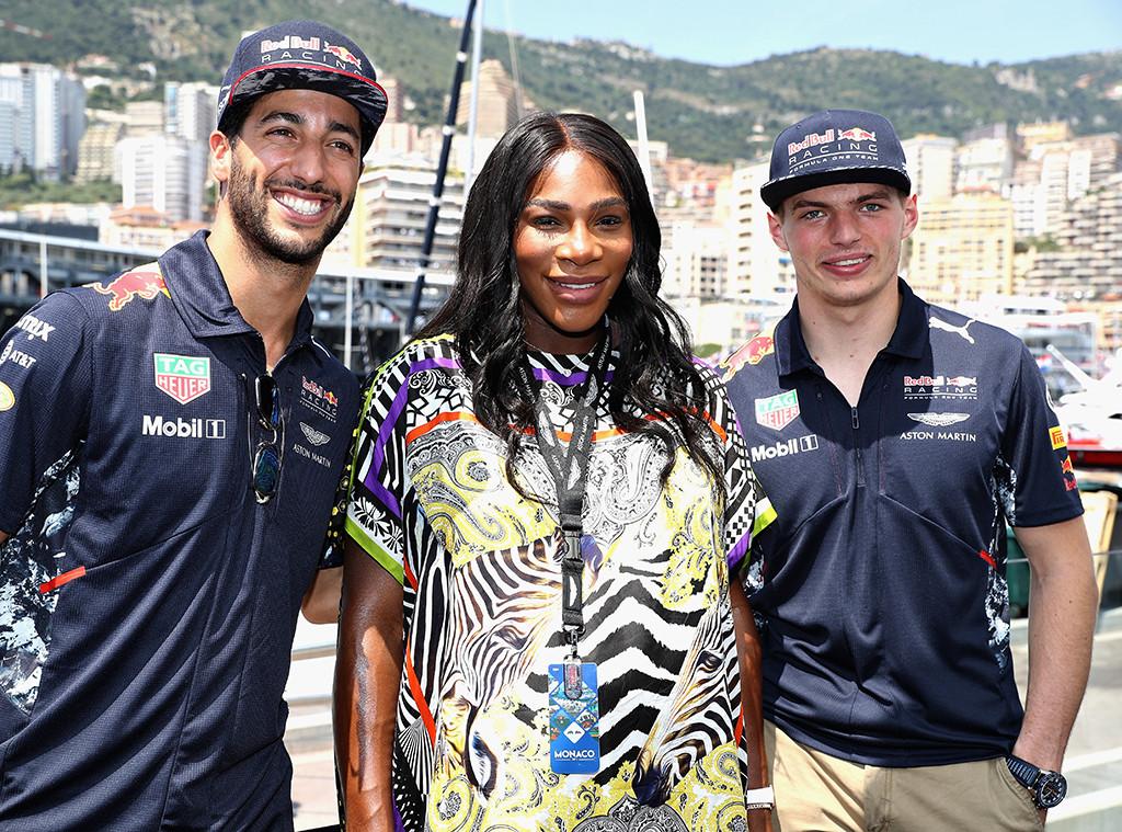 Serena Williams, Daniel Ricciardo, Max Verstappen