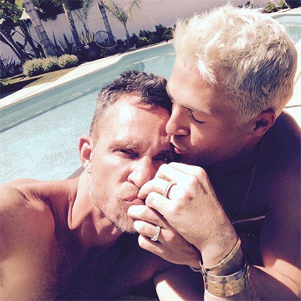 Colton Haynes, Jeff Leatham, Engagement Rings
