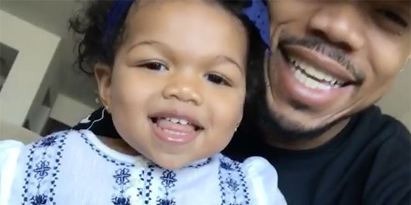 Image result for chance the rapper daughter
