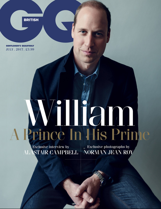 Prince William, British GQ