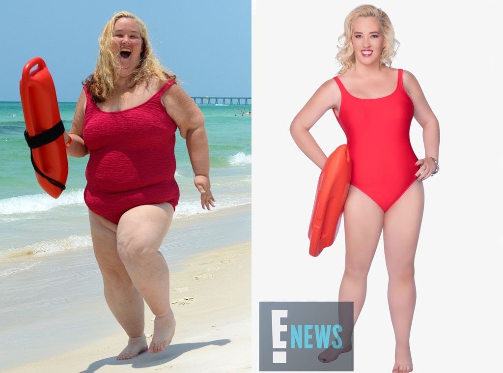 Mama June, Baywatch, Before and After, EXCLUSIVE
