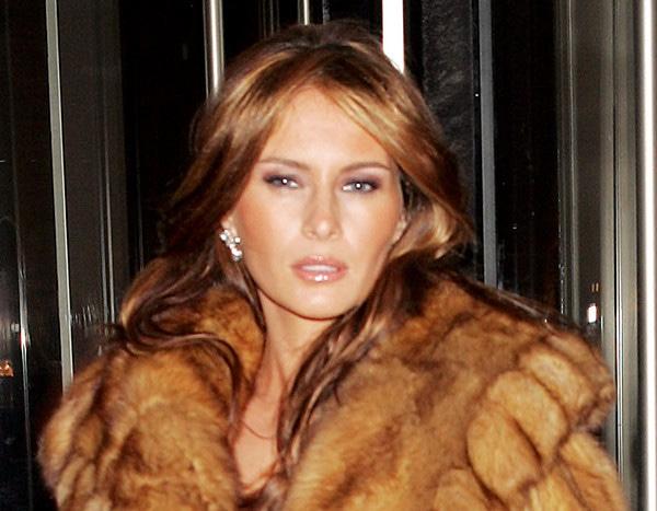 Melania Trump S Wardobe No Longer Includes Fur E News