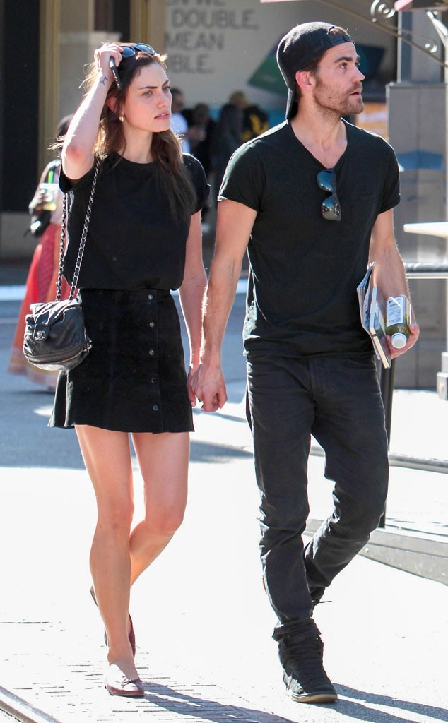 Paul Wesley en Phoebe Tonkin dating 2014