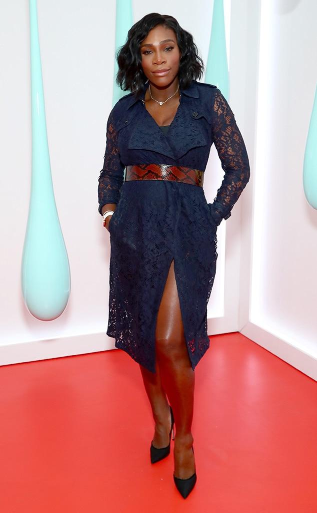 Serena Williams, Burberry Launch