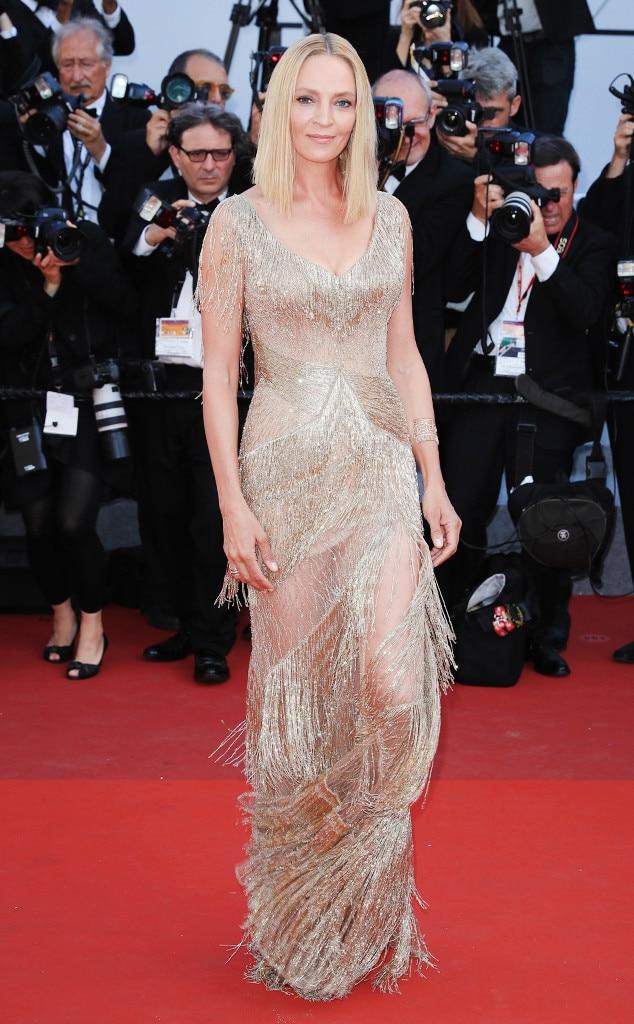 ESC: Cannes Best Dresses, Uma Thurman