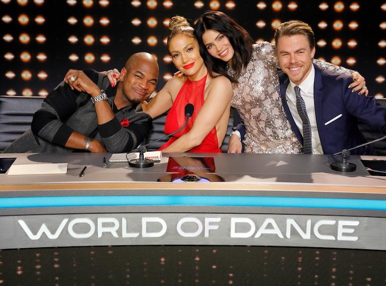 Ne-Yo, Jennifer Lopez, Jenna Dewan Tatum, Derek Hough, World of Dance