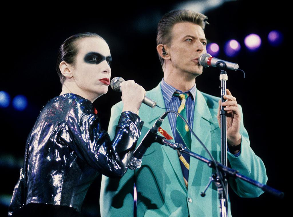 David Bowie, Annie Lennox, The Concert For Life, Benefit Concerts