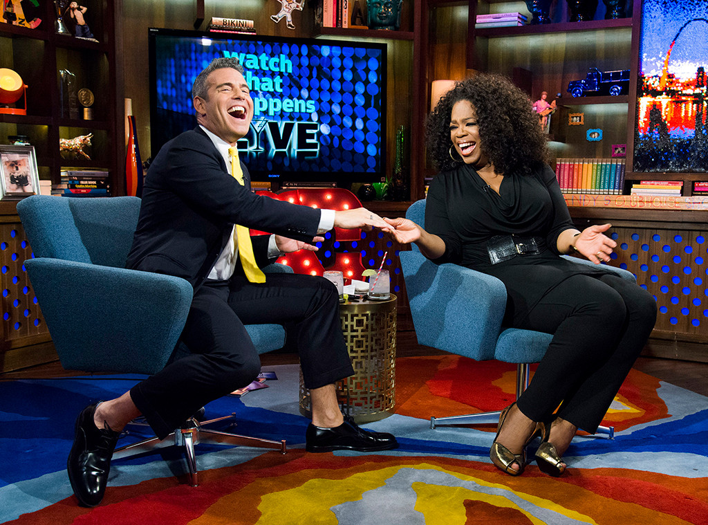 Andy Cohen, Oprah
