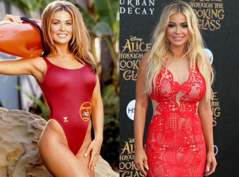 Carmen Electra From Baywatch Stars Then And Now E News