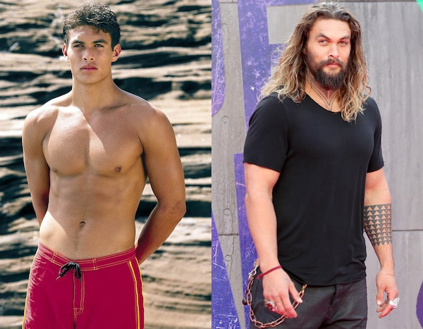 Jason Momoa from Baywatch Stars, Then and Now | E! News