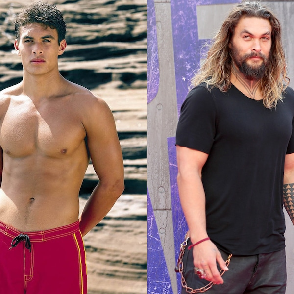 Jason Momoa Baywatch: Jason Momoa From Baywatch Stars, Then And Now