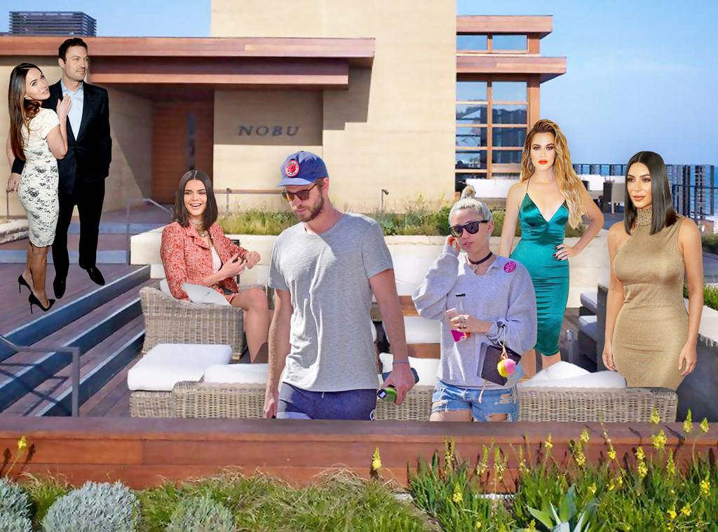 Hollywoods Hottest Restaurants, Nobu Malibu