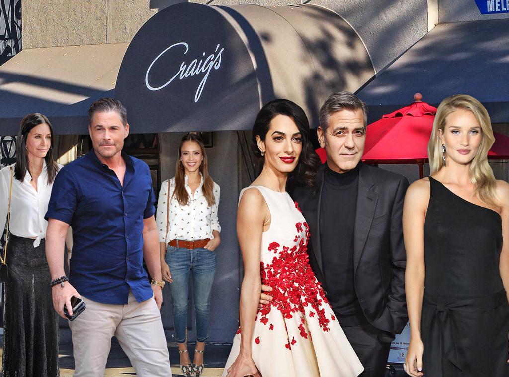 Hollywood's Hottest Restaurants, Craig's