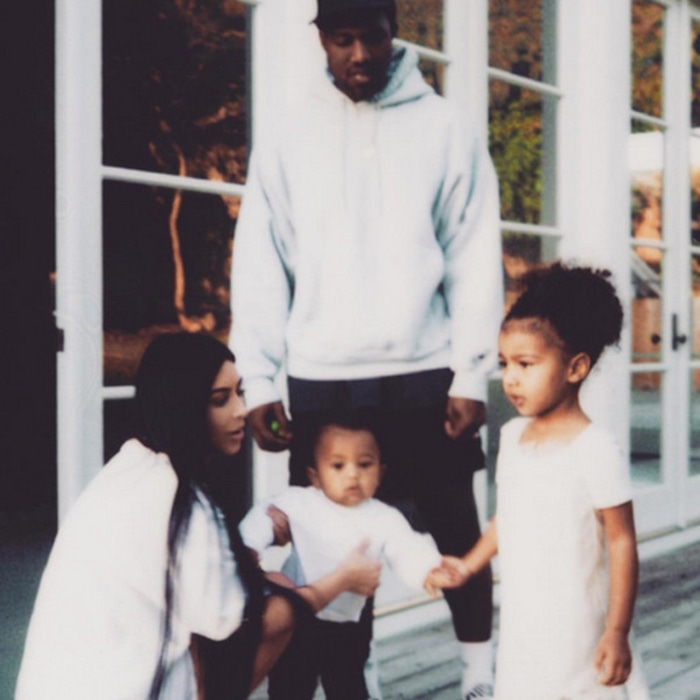 d3a9ecf26 Kim Kardashian   Kanye West Drop a Kid s Clothing Line—and It Ain t Cheap