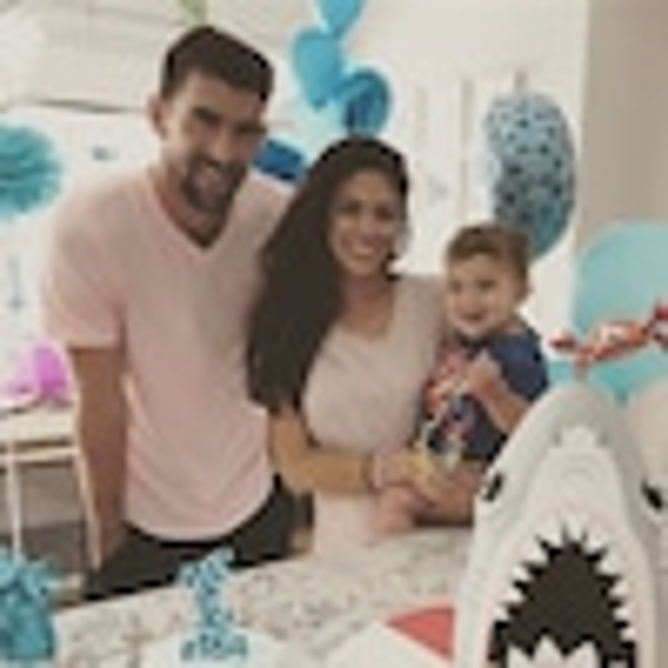 Michael Phelps, Nicole Phelps, Boomer Phelps, Instagram