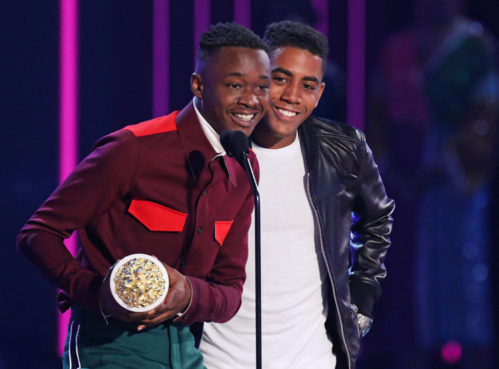 Ashton Sanders, Jharrel Jerome, 2017 MTV Movie And TV Awards, Show