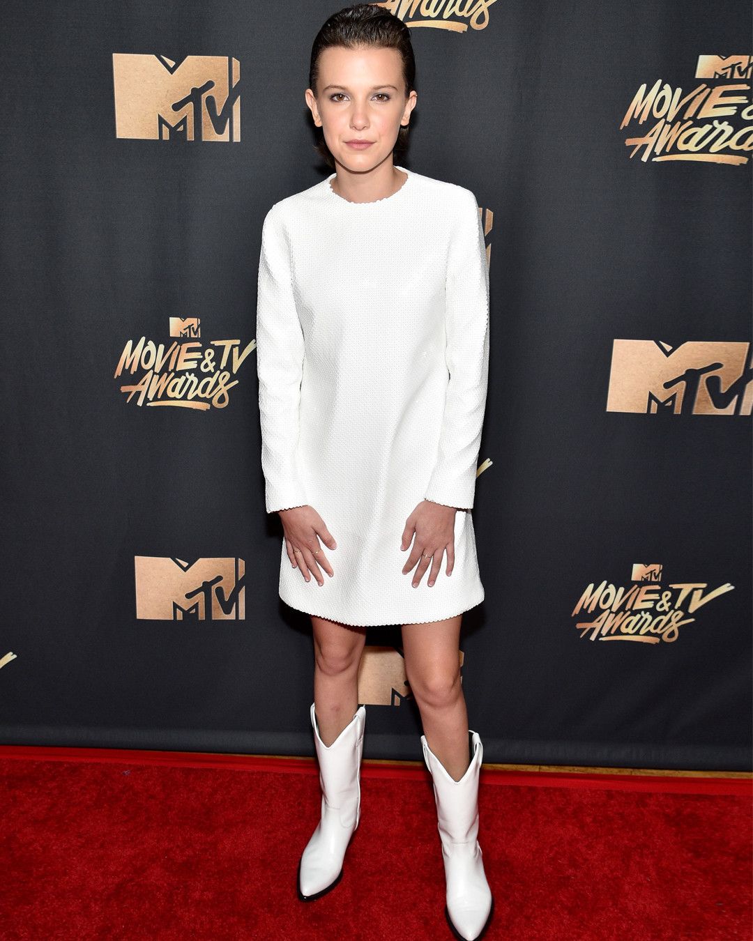 Millie Bobby Brown, 2017 MTV Movie And TV Awards