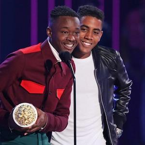 Ashton Sanders, Jharrel Jerome, 2017 MTV Movie And TV Awards, Show
