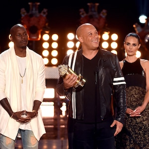 Tyrese Gibson, Vin Diesel, Jordana Brewster, 2017 MTV Movie And TV Awards, Show
